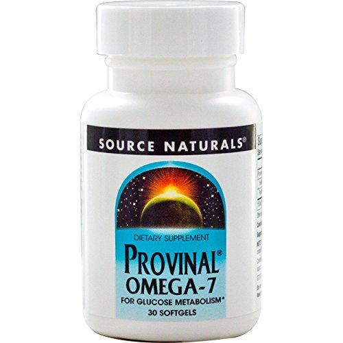 Source Naturals, Provinal Omega-7, 30 Softgels - 3PC by Source Naturals