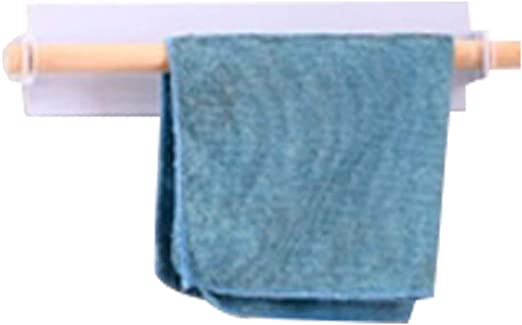 Towel Rail Rack Holder Wall Mounted Bathroom Self Adhesive Hanging Hanger
