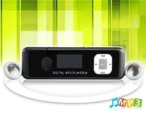 """Flash Drive 911 1,0 """"de pantalla Reproductor de MP3 de 4GB USB (Negro)"""