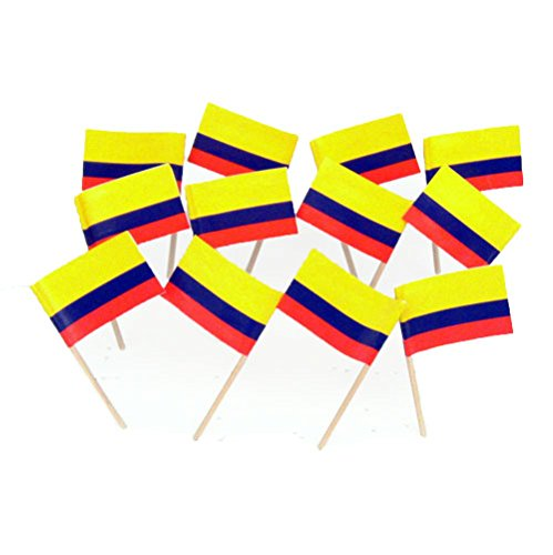Colombia | Colombian Flag Toothpicks (100) -