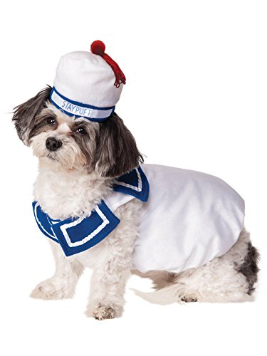 Ghostbusters Movie Pet Costume, Large, Stay-Puft Marshmallow Man]()