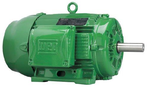 WEG 01012EG3E256T-W22 W22 NEMA Super Premium Severe Duty/General Purpose Motor, 10 HP, 3-Phase, 1180 rpm, 208-230/460 V, 60 Hz, 256T Frame