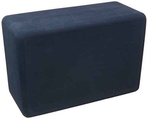 Manduka Recycled Foam Block, Midnight