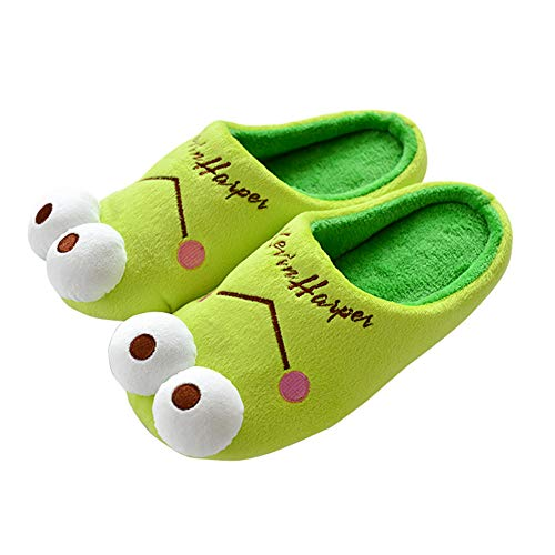 Mom Shoes Warm Outdoor Men amp; And Indoor Women Night Slippershouse Cotton onbear Wall Comfortable Slippers Slip Zn7pRa