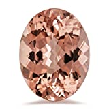 11.00-12.00 Cts of 18x13 mm AAA Oval Cut Morganite ( 1 pc ) Loose Gemstone