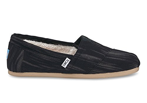 - TOMS Men's Seasonal Classics Black Brushed Woven Loafer 10.5 D (M)