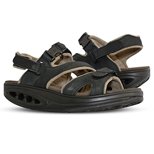 Ryn Women's Irin Walking Sandal (8 (M) US Women's, Black)