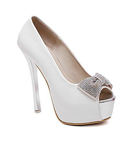 Bianco Bianco LadolaDgug00184 LadolaDgug00184 Peep Toe Peep LadolaDgug00184 Donna Peep Toe Donna Toe P7BqgP