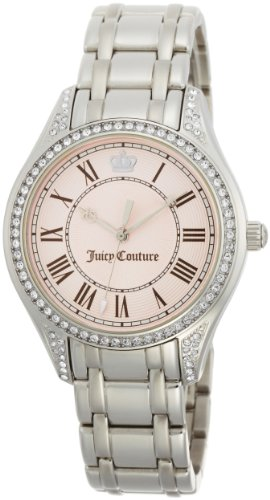Juicy Couture Women's 1900632 Lively Stainless-Steel Bracelet Watch