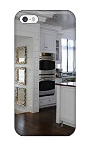 DfMoMDz29924bLAXX Tpu Phone Case With Fashionable Look For Iphone 5/5s - Large Traditional Kitchen With White Cabinets