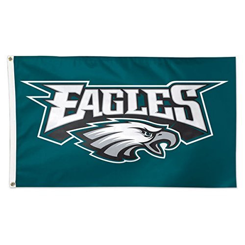 New Philadelphia Eagles Flag, Exclusive NFL Merchandise for Indoor/ Outdoor Use, 100% Polyester, 3 x 5 Ft
