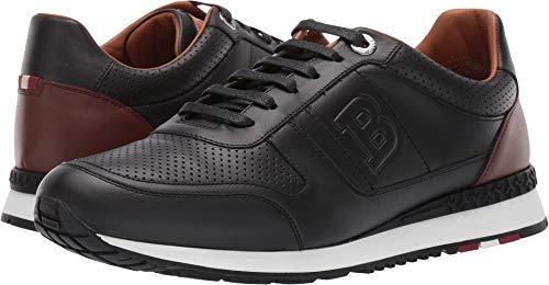 Bally Leather Shoes - BALLY Men's Asony Sneaker Black 8.5 D UK