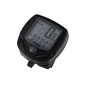 Waterproof Wireless LCD Digital Cycle Bike Computer Bicycle Speedometer Odometer by USA_Best_Seller