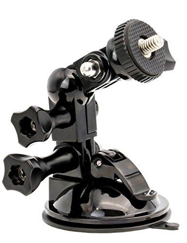 360 Degree Rotation Small Sucker Truck Windshield Mount for Camera-Gopro Hero 7