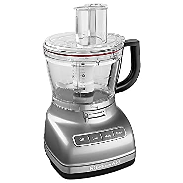 KitchenAid KFP1466CU 14-Cup Food Processor with Exact Slice System and Dicing Kit Contour Silver