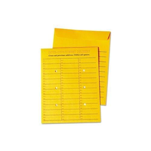 Universal 63570 Interoffice Press & Seal Envelope, 10 x 13, Brown, 100/Box