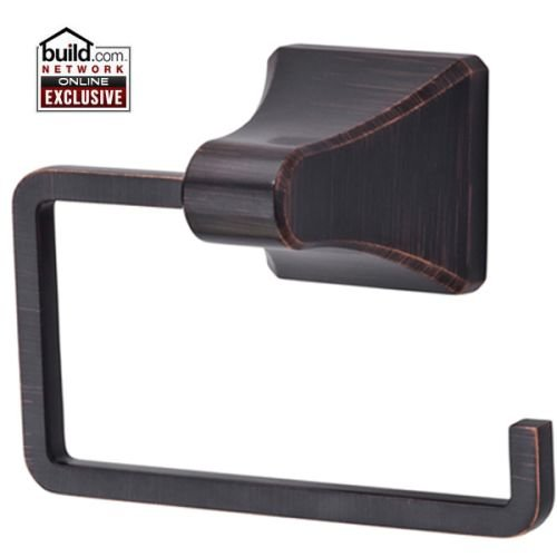 Avenue Toilet Paper - Pfister BPH-FE1 Park Avenue Tissue Paper Holder with Single Post Mounting, Tuscan Bronze