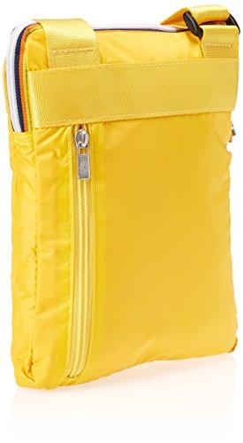K-Way 6ak1335km001, Borsa Messenger Unisex Adulto, Giallo (M0 Yellow Mustard), 2x26x20.5 cm (W x H x L)
