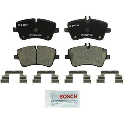 Bosch BC872 QuietCast Premium Ceramic Disc Brake Pad Set For Select Mercedes-Benz C200, C230, C240, C280, C320, C350, CLK280, CLK320, CLK350, SLK280, SLK300; Front: Automotive
