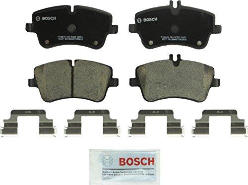 Bosch BC872 QuietCast Premium Ceramic Disc Brake Pad Set For Select Mercedes-Benz C200, C230, C240, C280, C320, C350, CLK280, CLK320, CLK350, SLK280, SLK300; Front