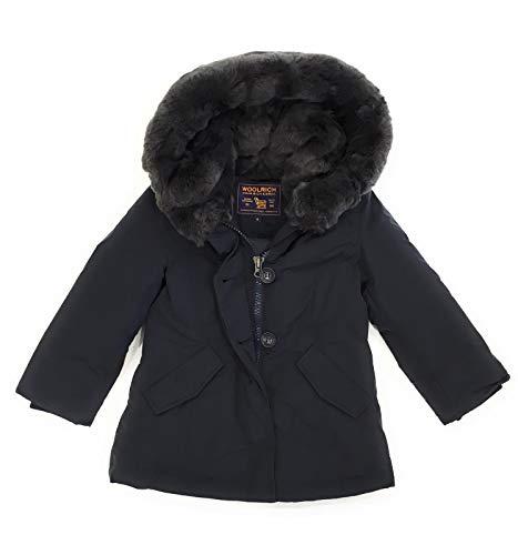 Giubbotto Inverno Beaker Midnight Luxury Wkcps2047 Woolrich Bambina Blue wqYUxB7
