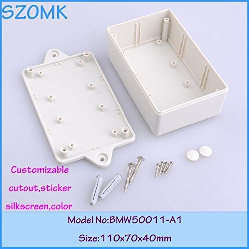 Gimax 25 pieces project box small plastic boxes plastic junction box 110x70x40mm