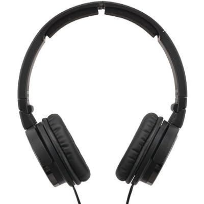JVC HAS400B Lightweight Collapsible Headphones, Black