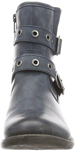 25465 805 Navy Blau Softline Kurzschaft Stiefel Damen 58qYqPwg
