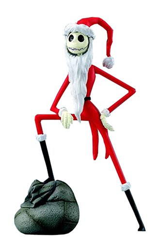 disney magical collection 113 nightmare before christmas jack skellington santa ver figure - Christmas Jack Skellington