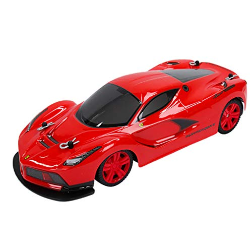 AMOFINY Baby Toys 1:14 Remote Control Toy Simulation Racing Car Electric Remote Control Cars High Power Headlight Racing Truck Toys Kids Gift]()