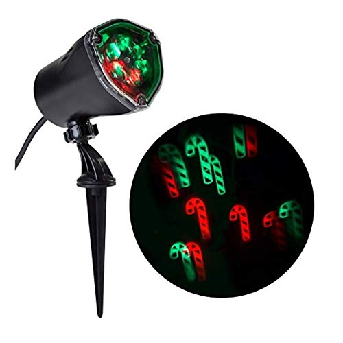 Green Candy Cane Outdoor Lights