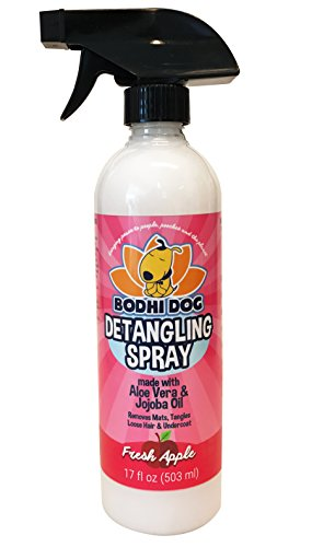 Bodhi Dog NEW All Natural Apple Detangling Spray