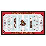 NHL Ottawa Senators 28 x 52-Inch Floor Mat