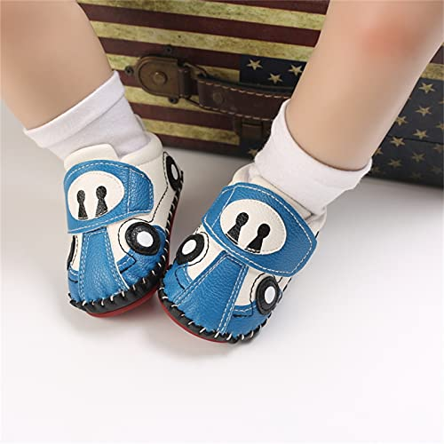 Baby Toddler Shoes, Baby Fashion Summer Soft Walker Non-Slip Hollow Variety Crib Shoes(Sky Blue_3,11)