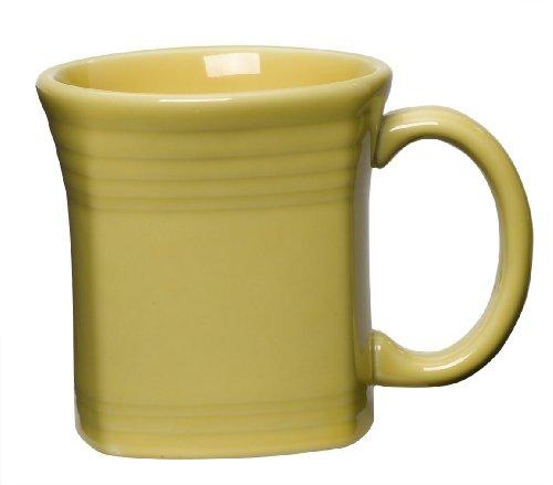 Fiesta 13-Ounce Square Mug, Sunflower