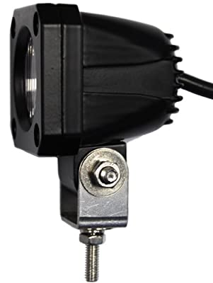 """Jammy Sol Series One - One Piece 2""""x2"""" 800 Lumen LED Light for Off Road Aux Work Lamp with Euro / Spot / Flood Beam"""