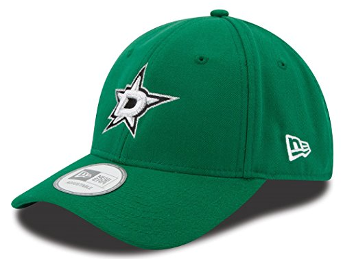 New Era NHL Dallas Stars The League 9FORTY Adjustable Hat, One Size, Green