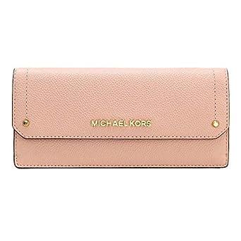 85f41c7efffd Michael Kors Jet Set Travel Slim Saffiano Leather Wallet Pink ...