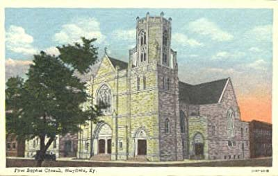 Mayfield, Kentucky Postcard