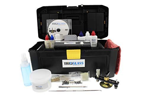 Tri Glass Basic Windshield Repair Kit TRI 10 (Best Windscreen Chip Repair Kit)