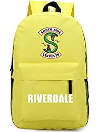 2018 For Riverdale Fan Backpack Harajuku American TV Backpack Idol Funny mochila for Teenager Canvas School