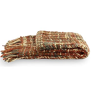 NOVICA Throw, Joyous Earth