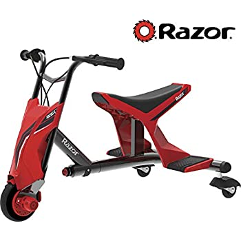 Amazon.com: Razor DXT Drift Trike eléctrico. Triciclo ...