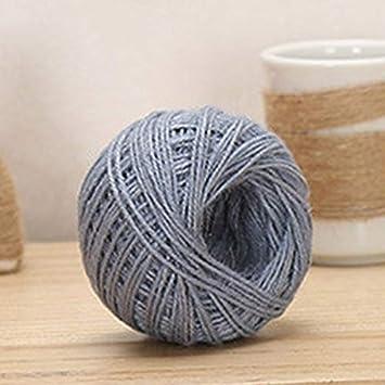 1 Roll 55yards//160feet Jute Twine DIY Hemp Rope Linen Cord Jute Thread Yarn Decor Supplies 2017ing