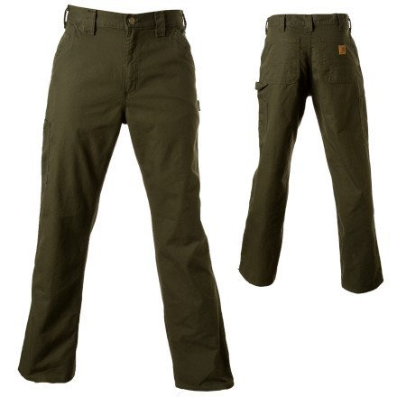 Carhartt Men's Canvas Work Dungaree Pant - 40W x 34L - Dark Coffee by Carhartt