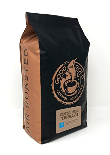 Costa Rica Tarrazu - Good As Gold Coffee - 5lb Whole Bean ()