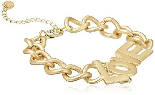 Funky Fish Charm Bracelet for Women (Golden) (I-655_I7297473303841)
