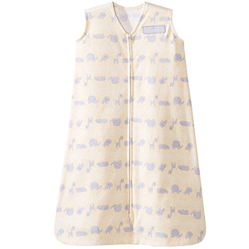 Halo Sleepsack Cotton Wearable Blanket, Yellow Jungle Line, - Blanket Baby Line