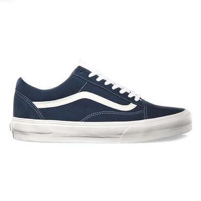 264207548386d3 Vans Old Skool Vintage Dress Blue Trainers UK 9  Amazon.co.uk  Shoes ...