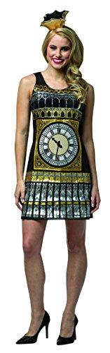 Fancy 10 Ben Costumes Dress (Rasta Imposta Women's Big Ben Dress, Multi, One)
